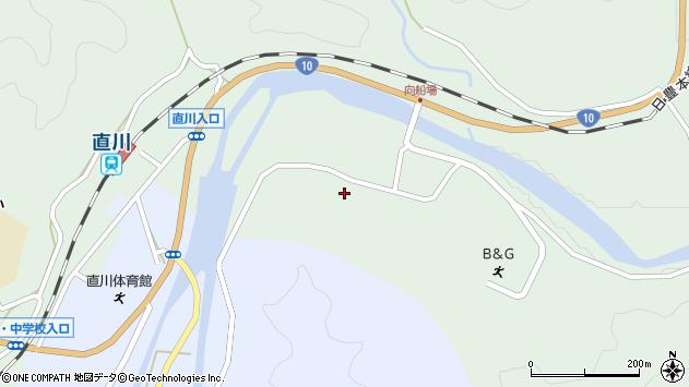 大分県佐伯市直川大字上直見3916周辺の地図
