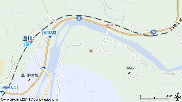 大分県佐伯市直川大字上直見3917周辺の地図