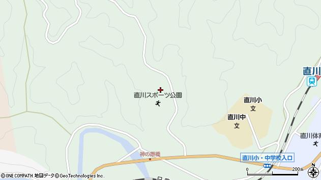 大分県佐伯市直川大字上直見207周辺の地図