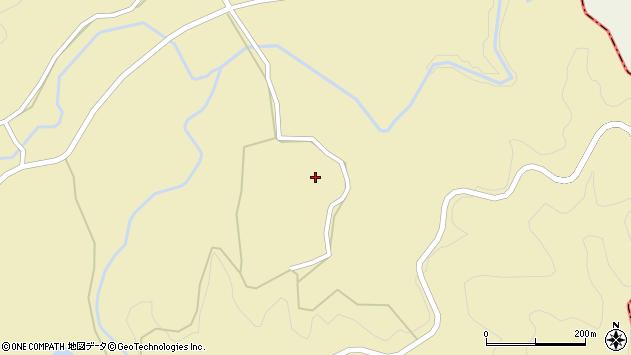 大分県竹田市倉木1373周辺の地図