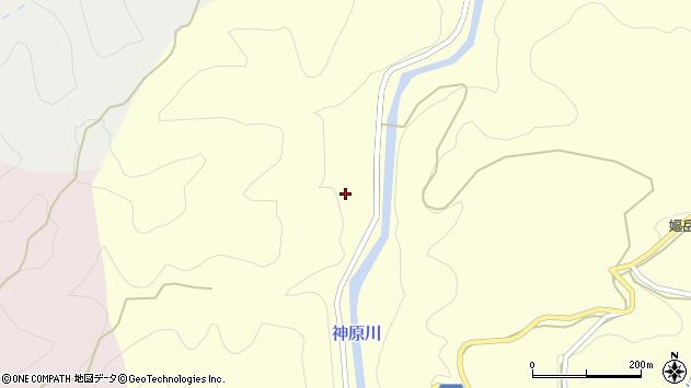 大分県竹田市神原372周辺の地図