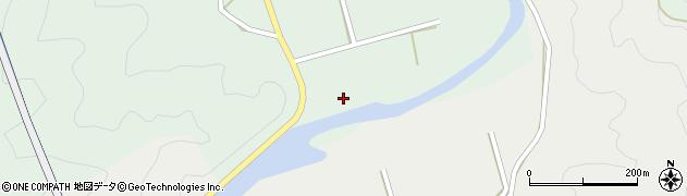 大分県佐伯市堅田185周辺の地図