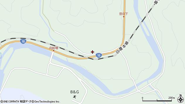 大分県佐伯市直川大字上直見1305周辺の地図