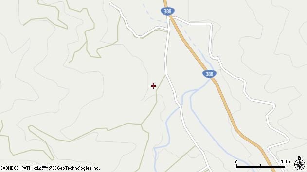 大分県佐伯市木立2210周辺の地図