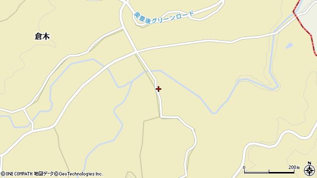 大分県竹田市倉木1301周辺の地図