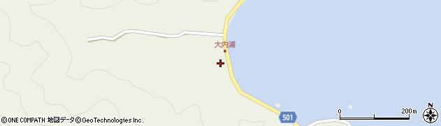 大分県佐伯市米水津大字色利浦278周辺の地図