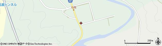 大分県佐伯市堅田423周辺の地図