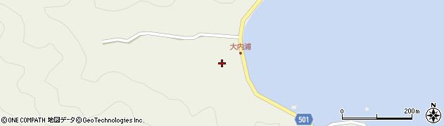 大分県佐伯市米水津大字色利浦237周辺の地図