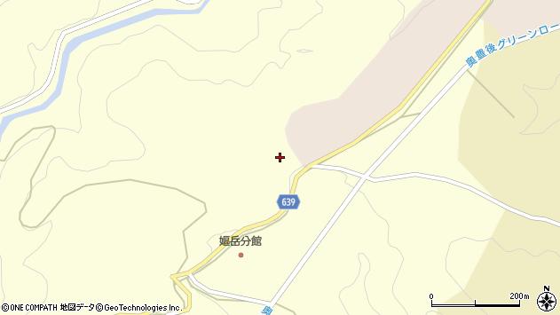 大分県竹田市神原251周辺の地図