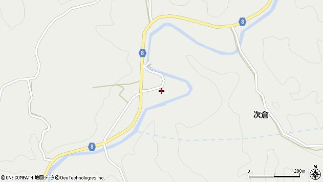 大分県竹田市次倉3601周辺の地図