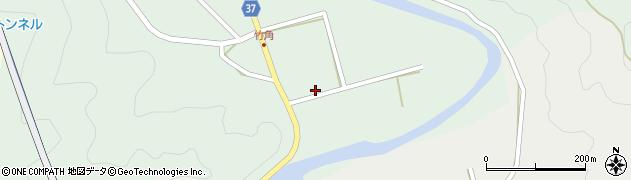 大分県佐伯市堅田430周辺の地図