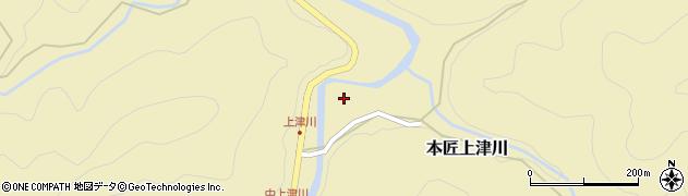 大分県佐伯市本匠大字上津川1061周辺の地図