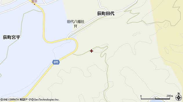 大分県竹田市荻町田代3911周辺の地図