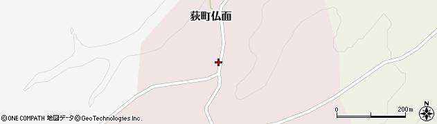 大分県竹田市荻町仏面995周辺の地図