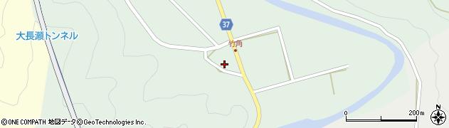 大分県佐伯市堅田540周辺の地図