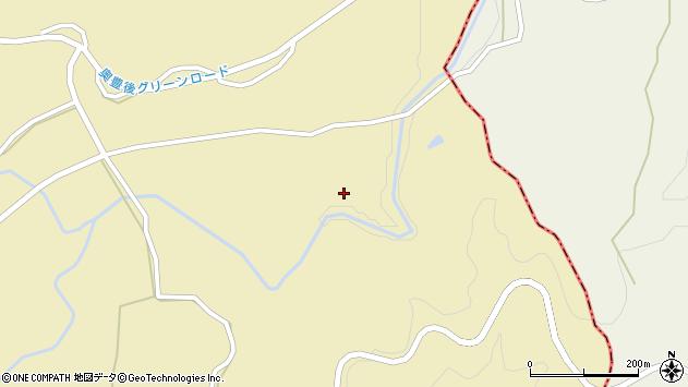 大分県竹田市倉木1117周辺の地図