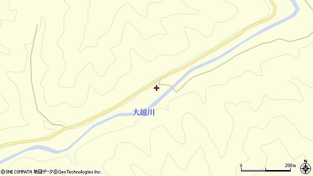 大分県佐伯市長谷105周辺の地図