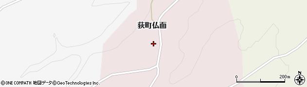 大分県竹田市荻町仏面周辺の地図