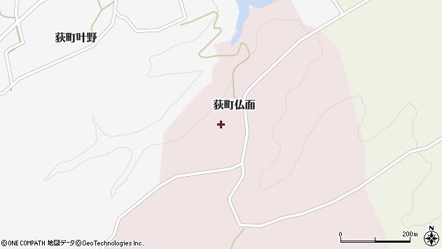 大分県竹田市荻町仏面996周辺の地図