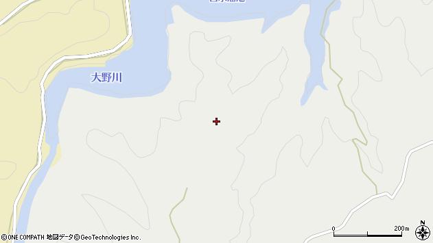 大分県竹田市次倉伊藤原周辺の地図