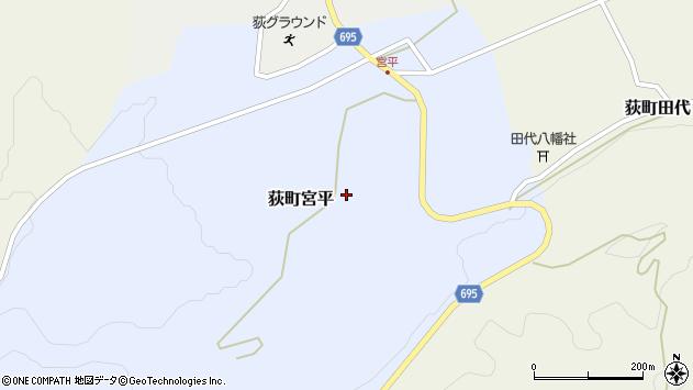大分県竹田市荻町宮平3619周辺の地図