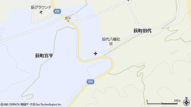 大分県竹田市荻町宮平3750周辺の地図