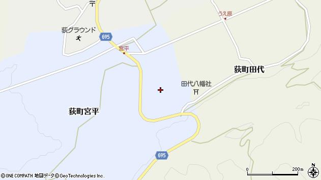 大分県竹田市荻町宮平3723周辺の地図
