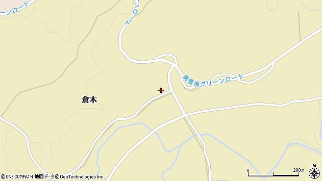 大分県竹田市倉木934周辺の地図
