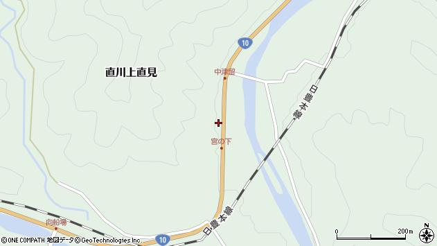 大分県佐伯市直川大字上直見1548周辺の地図