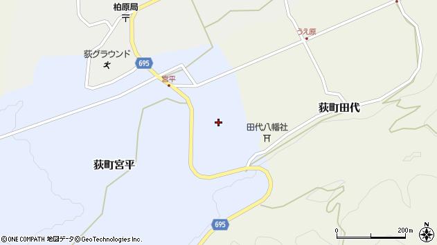 大分県竹田市荻町宮平3722周辺の地図