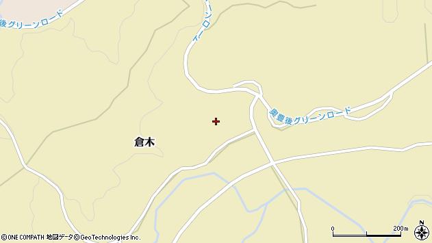 大分県竹田市倉木931周辺の地図