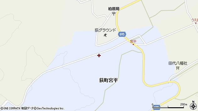 大分県竹田市荻町宮平3639周辺の地図