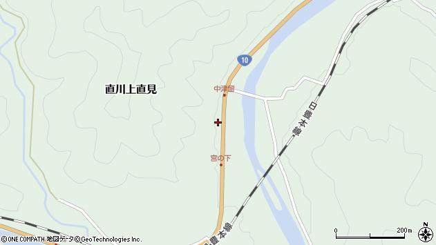 大分県佐伯市直川大字上直見1547周辺の地図