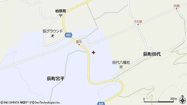 大分県竹田市荻町宮平3719周辺の地図