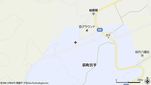 大分県竹田市荻町宮平3638周辺の地図