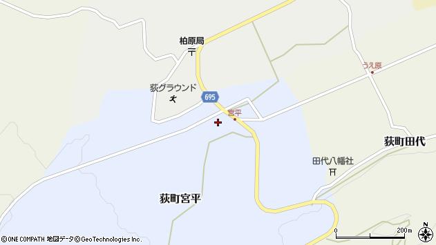 大分県竹田市荻町宮平3647周辺の地図