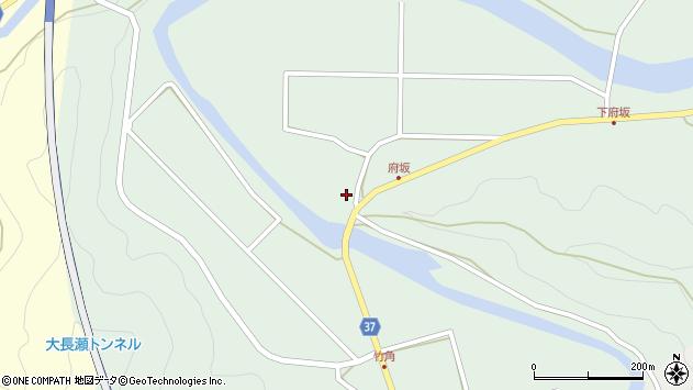 大分県佐伯市堅田970周辺の地図