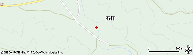 大分県佐伯市堅田1842周辺の地図