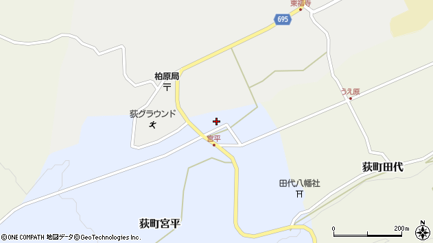 大分県竹田市荻町宮平3653周辺の地図
