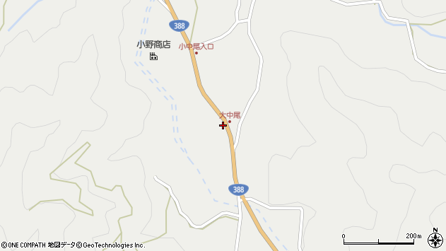 大分県佐伯市木立2154周辺の地図