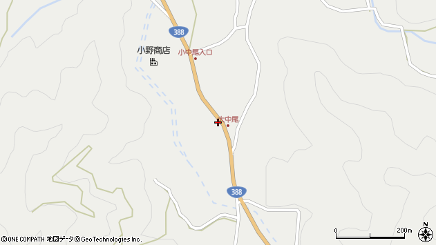 大分県佐伯市木立2150周辺の地図