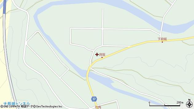 大分県佐伯市堅田1232周辺の地図
