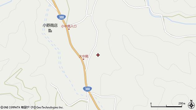 大分県佐伯市木立2672周辺の地図