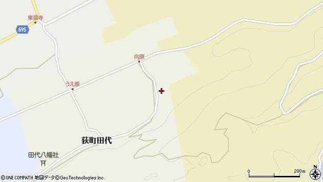 大分県竹田市荻町田代4314周辺の地図