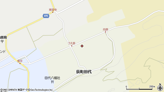 大分県竹田市荻町田代4386周辺の地図