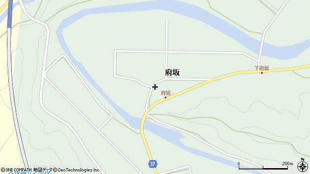大分県佐伯市堅田1222周辺の地図