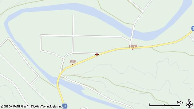 大分県佐伯市堅田1402周辺の地図
