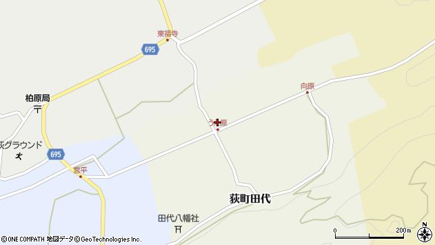 大分県竹田市荻町田代4380周辺の地図