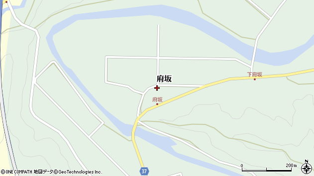 大分県佐伯市堅田1237周辺の地図