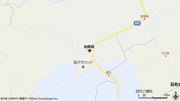 大分県竹田市荻町瓜作4573周辺の地図